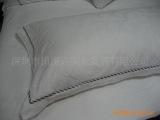 酒店布草、宾馆酒店用品、床上用品、枕套、枕袋、绣花边枕套