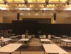 深圳灯光音响舞台搭建 双十线阵音响 高清LED屏幕租赁