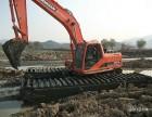 沼泽地挖掘机出租清淤机械出租