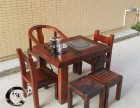 厂家促销老船木家具办公茶台功夫茶台简约阳台小茶桌茶水柜