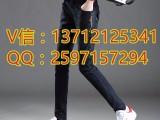 韩版高腰弹力牛仔裤小脚裤厂家直销5元牛仔裤批发市场地摊货