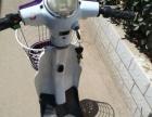 麦凯文电动车小款踏板小电车紫色