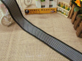 【床垫围边带】MT-320 黑底白色网格带 (织带 包边带 花边