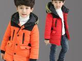 2015新款冬装男童羽绒棉衣中大童棉袄儿童棉服加厚连帽款童装外套