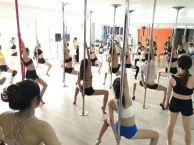 成都市钢管舞老师工资多少,钢管舞零基础培训包就业