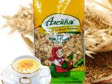 俄罗斯进口 艾利客 黑麦片 无糖食品早餐麦片 400g