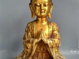 铜鎏金佛像摆件收购