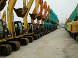 中型二手挖掘机市场 现代130-5轮式二手挖掘机