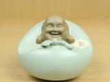 恒福 东道汝窑茶具 引福香道 陶瓷茶宠摆件香插香炉 茶道配件包邮