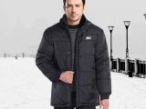 特价冬季中老年男装棉衣男士休闲加绒大码棉服爸爸装宽松外套批发