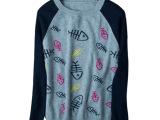 RUZMARIN100%纯羊毛衫冬装 韩版提花圆领套头打底衫拼色