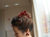 惠州麦地新娘结婚当天婚礼化妆师上门化妆包饰品包伴娘