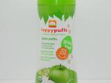 美国happy baby禧贝 有机水果泡芙 苹果味 婴幼儿零食