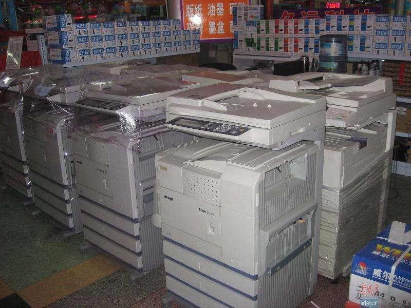 上海工程复印机回收上海二手得力打印机回收