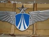 专业定制大型铝合金烤漆空军军徽海军军徽政协会徽八一军徽