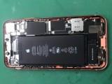 苹果手机主板漏电维修.苹果XS主板维修