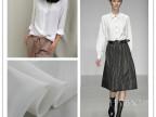 真丝双绉真丝面料真丝布料 100%桑蚕丝白色双绉 衬衣服装面料宽幅