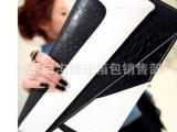 2013时尚蛇皮纹信封手拿包 单肩包气质韩版女包B--201