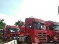 东风天龙420,375雷诺电喷拖头货车双桥二拖三半挂车