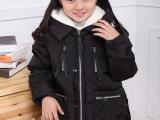 爱尚童品童装羽绒服女军工儿童羽绒服时装韩版中童羽绒服一件代发