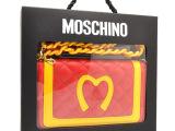 moschino 麦当劳三折皮套 Iphone5S后背带插卡手机