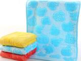 实用可爱苹果童巾 批发竹纤维面巾 竹炭毛巾 柔软吸水提花巾