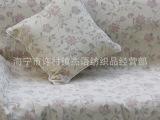 供应 提花沙发套布料批发 欧式田园 窗帘布面料 提花涤棉 世桦