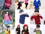 韩版男女童纯棉纯色针织衫 宝宝高领百搭款线衫 厂家直销