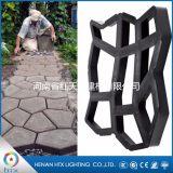 河南红天星厂家直销DIY地坪模具 个性花园铺路模具