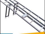 厂家销售 机械切割机滚动送料架 晶钢门送