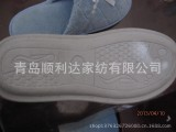 外贸领带类室内拖鞋 pci鞋底 加工各种类型室内拖鞋