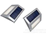 新款2LED太阳能路灯别墅景观墙壁灯 户