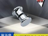 【淋浴房配件】欧美嘉厂家直销批发实心精铸单孔304不锈钢小拉手
