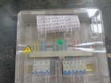 电力PC透明电表箱 单相三表电表箱
