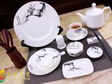 批发供应高级日用陶瓷 台面陶瓷餐具 饭店瓷 宾馆瓷