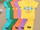 新款童装短袖套装7.5块 齐色齐码 独立包装