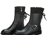 2013冬款男士真皮皮靴时尚韩版男靴子潮流英伦高筒男鞋马丁靴潮鞋