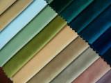 厂家直销 荷兰绒 纯色窗帘布 沙发软包布 手工布玩具布
