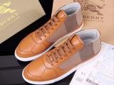 欧美新款B宝格子男士中帮鞋帆布鞋 休闲系带男鞋广州鞋子一件代发