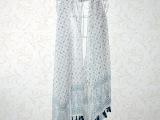 2014新款秋冬棉麻围巾 民族风丝巾披肩两用吊坠围巾 小花朵丝巾
