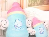 天使奶瓶毛绒玩具可爱奶瓶公仔创意玩具大号奶瓶女生礼物一件代发