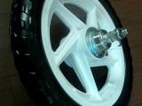 厂家专业生产润森童车轮胎高档EVA发泡轮各种规格尺寸颜色