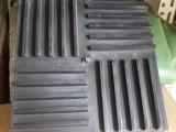 专业经销 橡胶减震垫块 方形橡胶垫块 工业橡胶制品加工定制