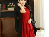 欧洲站春款外套 韩版 女装修身中长款小西装女春季新款 一件代发