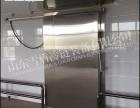 雪盾冷链保温冷库门 滨州聚氨酯保温门厂家订制安装