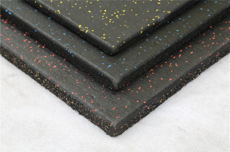 健身房防滑减震橡胶地砖