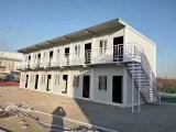 包头彩钢活动房宿舍二层活动房