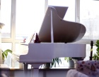 个人转让YAMAHA白色三角钢琴一台32000