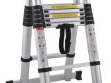 厂家批发便携式铝合金竹节梯子/伸缩工程防滑家用梯/关节人字梯