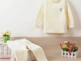妞贝尔童装 冬季加厚儿童保暖内衣套装 纯棉婴儿内衣长裤两件套装